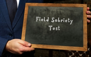 what is a field sobriety test